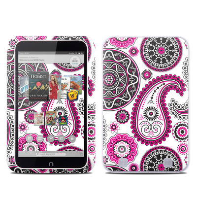 Barnes and Noble NOOK HD Tablet Skin - Boho Girl Paisley