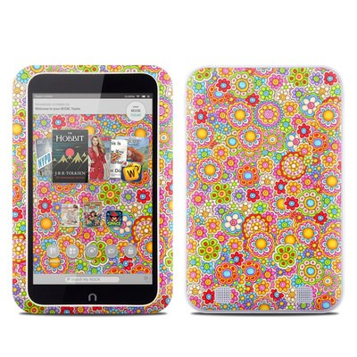 Barnes and Noble NOOK HD Tablet Skin - Bright Ditzy