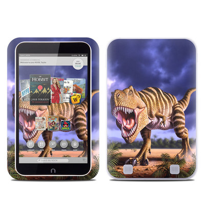 Barnes and Noble NOOK HD Tablet Skin - Brown Rex