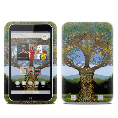 Barnes and Noble NOOK HD Tablet Skin - Celtic Tree