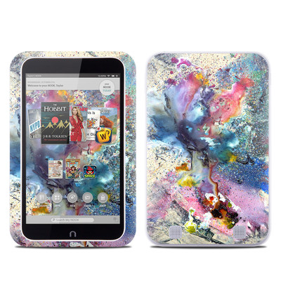 Barnes and Noble NOOK HD Tablet Skin - Cosmic Flower