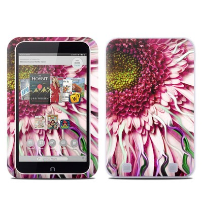 Barnes and Noble NOOK HD Tablet Skin - Crazy Daisy