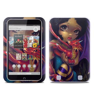 Barnes and Noble NOOK HD Tablet Skin - Darling Dragonling
