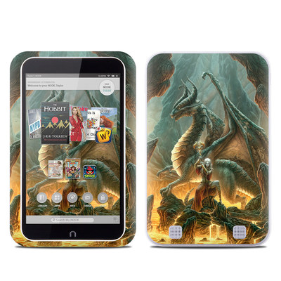 Barnes and Noble NOOK HD Tablet Skin - Dragon Mage