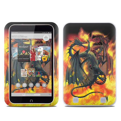 Barnes and Noble NOOK HD Tablet Skin - Dragon Wars