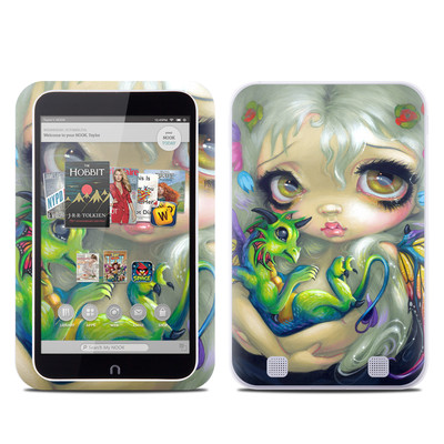 Barnes and Noble NOOK HD Tablet Skin - Dragonling