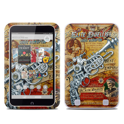 Barnes and Noble NOOK HD Tablet Skin - The Duelist