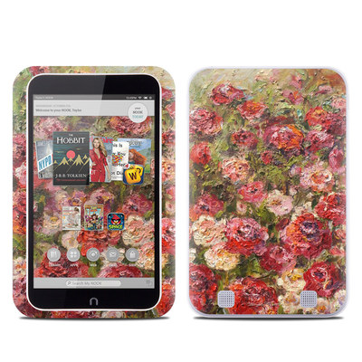 Barnes and Noble NOOK HD Tablet Skin - Fleurs Sauvages