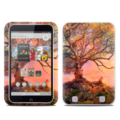 Barnes and Noble NOOK HD Tablet Skin - Fox Sunset