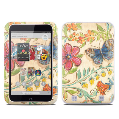 Barnes and Noble NOOK HD Tablet Skin - Garden Scroll