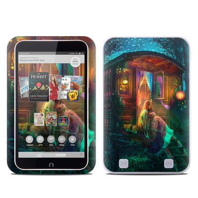 Barnes and Noble NOOK HD Tablet Skin - Gypsy Firefly