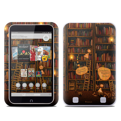 Barnes and Noble NOOK HD Tablet Skin - Google Data Center