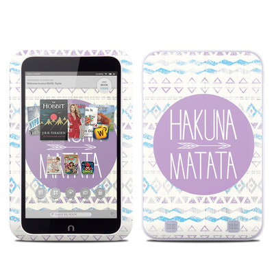 Barnes and Noble NOOK HD Tablet Skin - Hakuna Matata