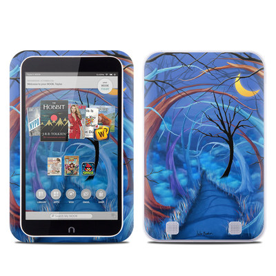 Barnes and Noble NOOK HD Tablet Skin - Ichabods Forest