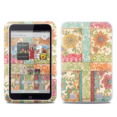 Barnes and Noble NOOK HD Tablet Skin - Ikat Floral