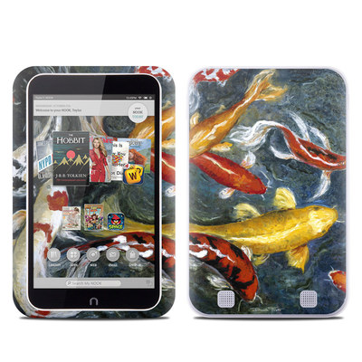 Barnes and Noble NOOK HD Tablet Skin - Koi's Happiness