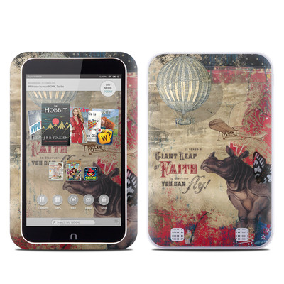 Barnes and Noble NOOK HD Tablet Skin - Leap Of Faith