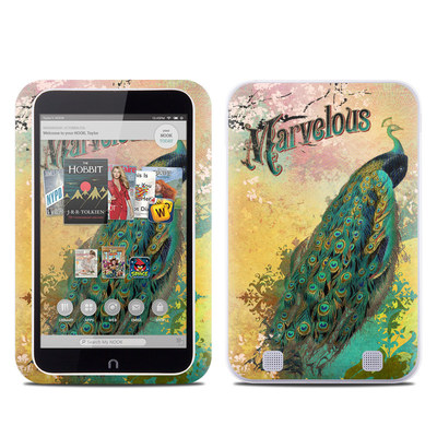 Barnes and Noble NOOK HD Tablet Skin - Marvelous