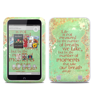 Barnes and Noble NOOK HD Tablet Skin - Measured