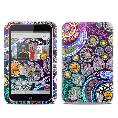 Barnes and Noble NOOK HD Tablet Skin - Mehndi Garden