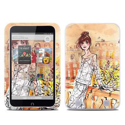 Barnes and Noble NOOK HD Tablet Skin - Mimosa Girl