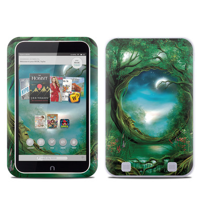 Barnes and Noble NOOK HD Tablet Skin - Moon Tree