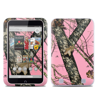 Barnes and Noble NOOK HD Tablet Skin - Break-Up Pink