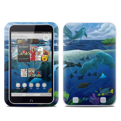Barnes and Noble NOOK HD Tablet Skin - Oceans For Youth