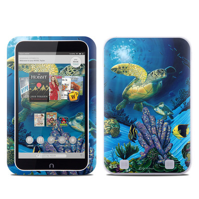 Barnes and Noble NOOK HD Tablet Skin - Ocean Fest