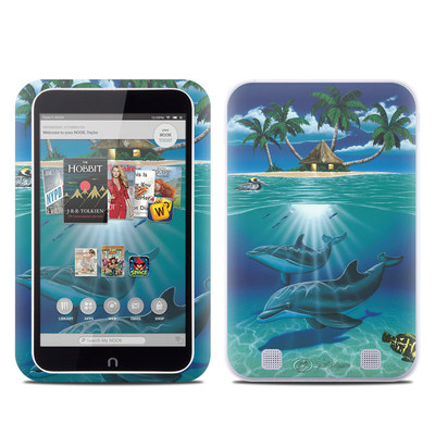 Barnes and Noble NOOK HD Tablet Skin - Ocean Serenity