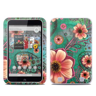 Barnes and Noble NOOK HD Tablet Skin - Paisley Paradise