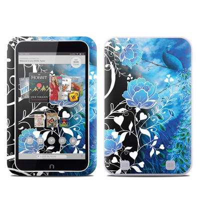Barnes and Noble NOOK HD Tablet Skin - Peacock Sky