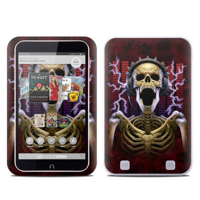 Barnes and Noble NOOK HD Tablet Skin - Play Loud