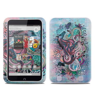 Barnes and Noble NOOK HD Tablet Skin - Poetry in Motion