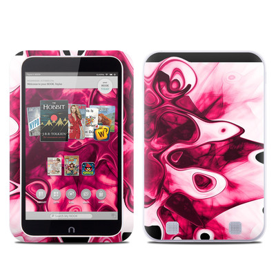 Barnes and Noble NOOK HD Tablet Skin - Pink Splatter
