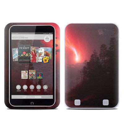 Barnes and Noble NOOK HD Tablet Skin - Red Harbinger