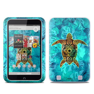 Barnes and Noble NOOK HD Tablet Skin - Sacred Honu