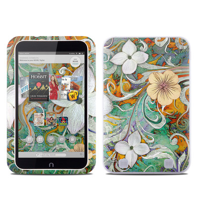 Barnes and Noble NOOK HD Tablet Skin - Sangria Flora