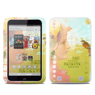 Barnes and Noble NOOK HD Tablet Skin - See Believe