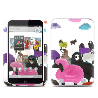 Barnes and Noble NOOK HD Tablet Skin - Sheeps