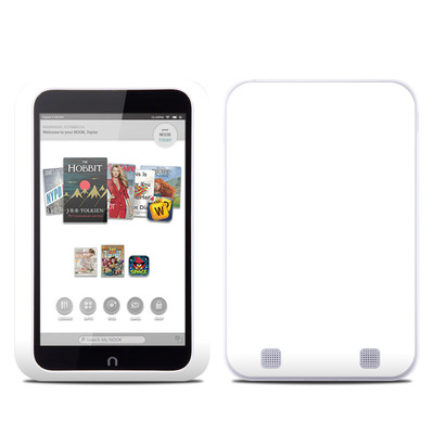 Barnes and Noble NOOK HD Tablet Skin - Solid State White