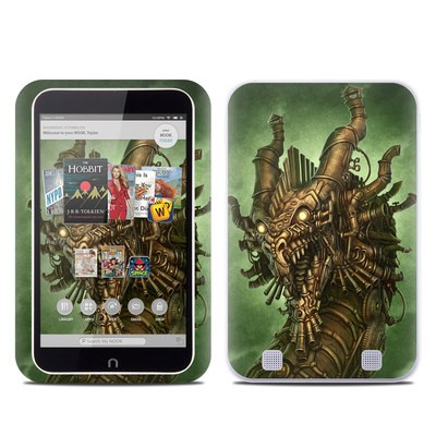 Barnes and Noble NOOK HD Tablet Skin - Steampunk Dragon
