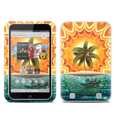 Barnes and Noble NOOK HD Tablet Skin - Sundala Tropic