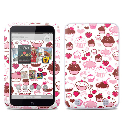 Barnes and Noble NOOK HD Tablet Skin - Sweet Shoppe