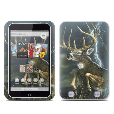 Barnes and Noble NOOK HD Tablet Skin - Thunder Buck