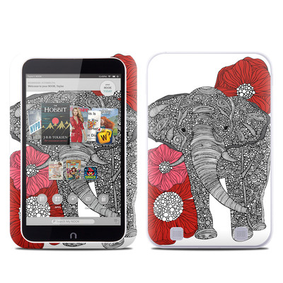 Barnes and Noble NOOK HD Tablet Skin - The Elephant