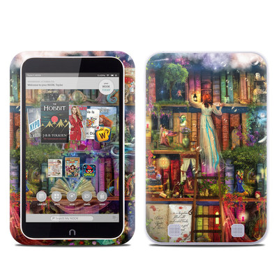 Barnes and Noble NOOK HD Tablet Skin - Treasure Hunt