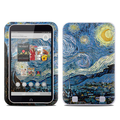 Barnes and Noble NOOK HD Tablet Skin - Starry Night