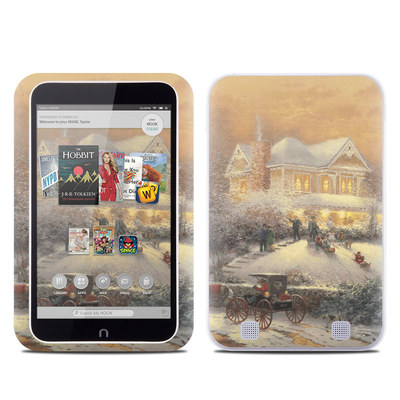 Barnes and Noble NOOK HD Tablet Skin - Victorian Christmas