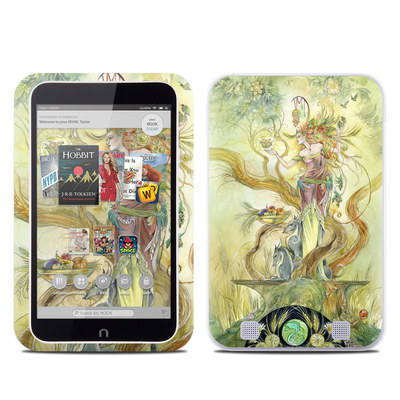 Barnes and Noble NOOK HD Tablet Skin - Virgo